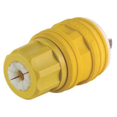 Leviton Plug,277V,20A,L7-20P,2P,3W,1PH 26W49