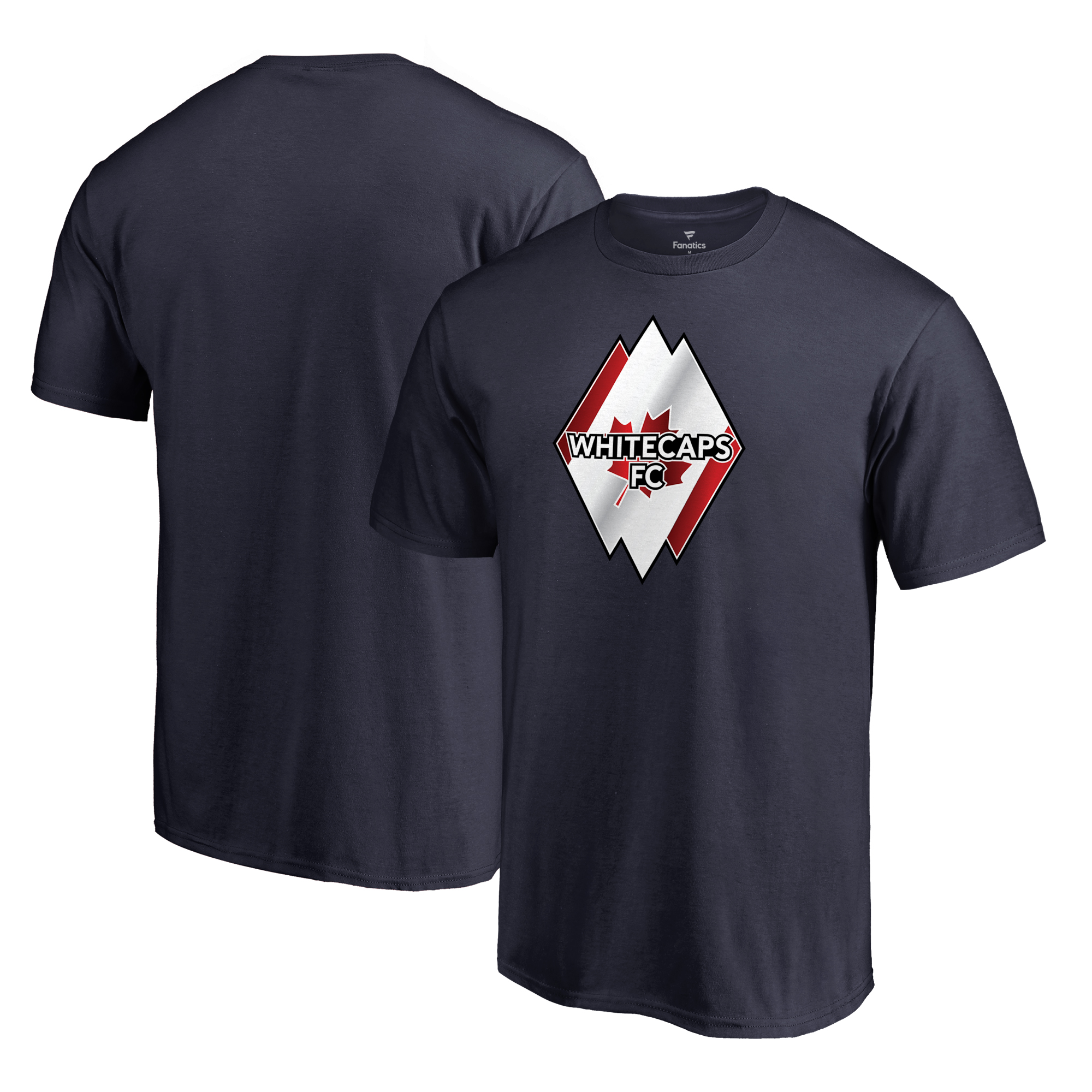 Vancouver Whitecaps FC Fanatics Branded Club and Country T-Shirt - Navy