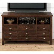 "Jofran 50"" TV Console in Urban Lodge Brown Finish"