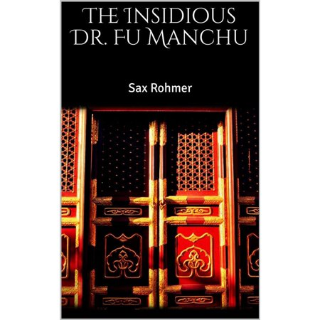 The Insidious Dr. Fu Manchu - eBook - Fake Fu Manchu Mustache