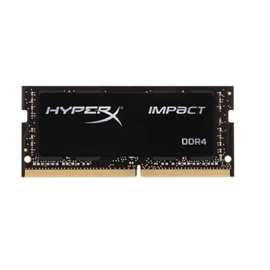 Kingston HyperX Impact SODIMM - 16GB Module - DDR4 2400MHz - 16 GB (1 x 16 GB) - DDR4 SDRAM - 2400 MHz DDR4-2400/PC4-19200 - 1.20 V - Non-ECC - Unbuffered - 260-pin - SoDIMM