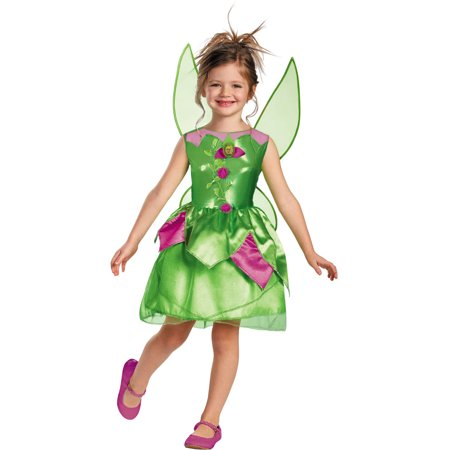 Tinkerbell Costumes For Toddlers (Girl's Tinker Bell Classic Halloween)