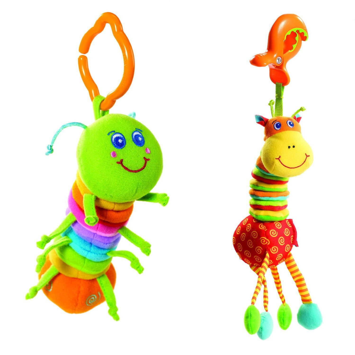 Tiny Love Tiny Smarts Jittering Activity, Jay + Giraffe Set of 2