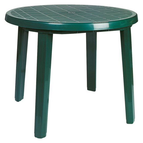 Compamia Ronda Resin 35 5 In Round Patio Dining Table