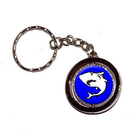 Chain Link Shark Suit (Shark Key Chain Keychain Ring)
