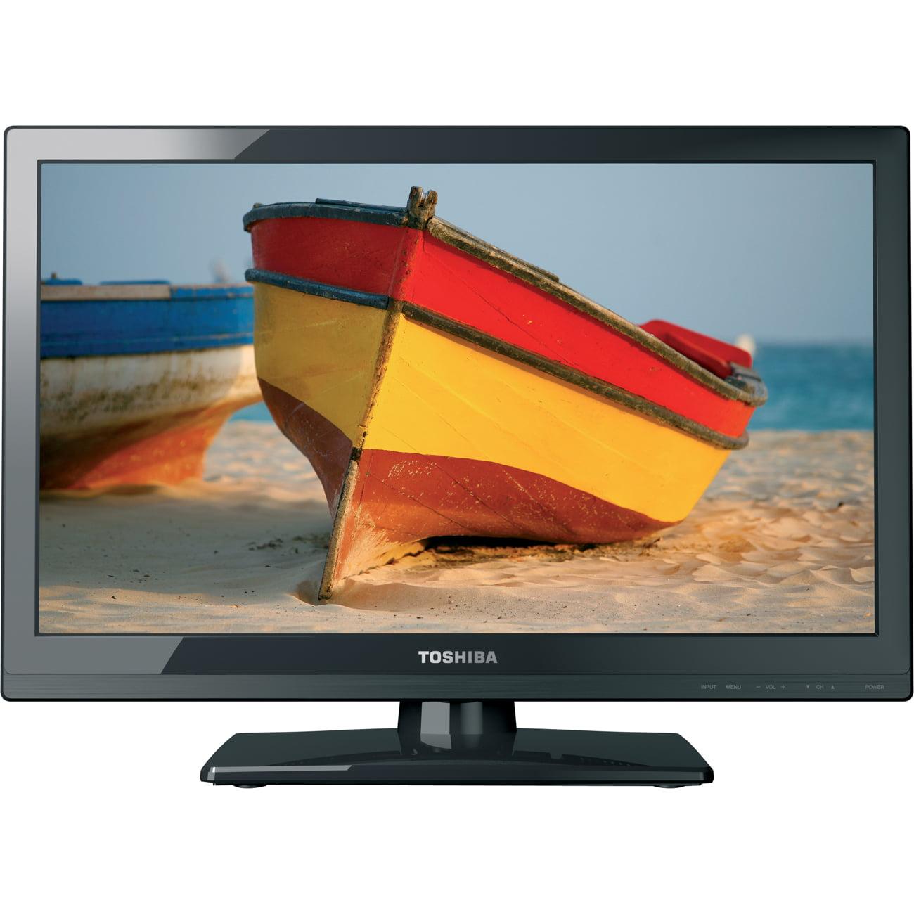 "Toshiba 24"" Class LED 1080p 60Hz HDTV, 1.85"" ultra slim, 24SL410U"