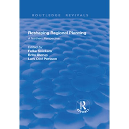 Reshaping Regional Planning - eBook