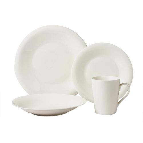 Lorren Home Trend Exclusive 16-piece Bone China Dinnerware Set (Service for 4) by Overstock