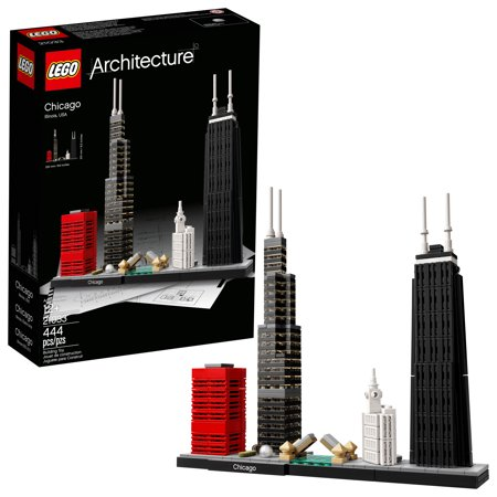 LEGO Architecture Chicago 21033 Building Set (444 Pieces) (Lego Architecture Building Set)