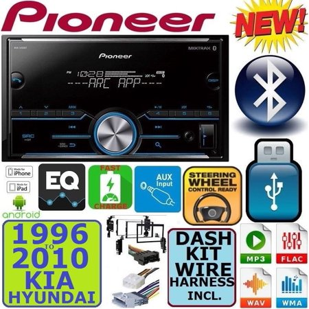 PIONEER SUPER TUNER III Car Stereo Radio Bluetooth Double Din PANDORA  SPOTIFY