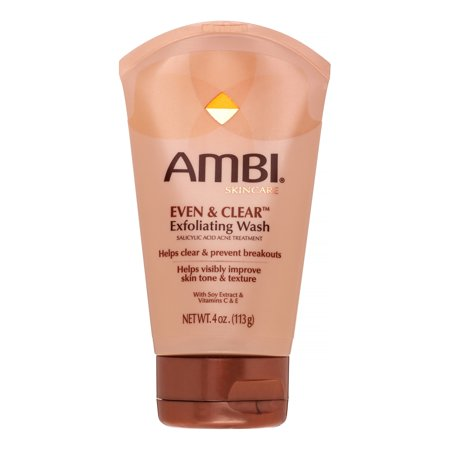 Image of AMBI Even & Clear Exfoliating Wash, 4 Oz