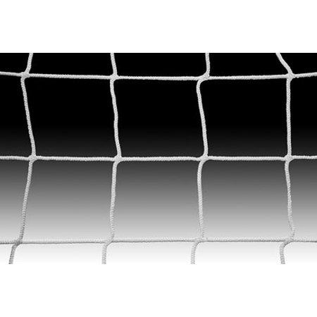 Kwik Goal Soccer Net 8Hx24Wx6Dx6B, 3mm mesh, White