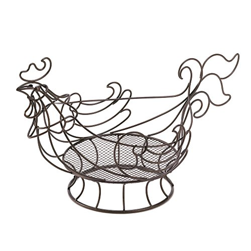 VERDUGO GIFT CO Country Rooster Basket