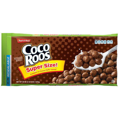 Malt-O-Meal Coco Roos Cereal, 38 oz