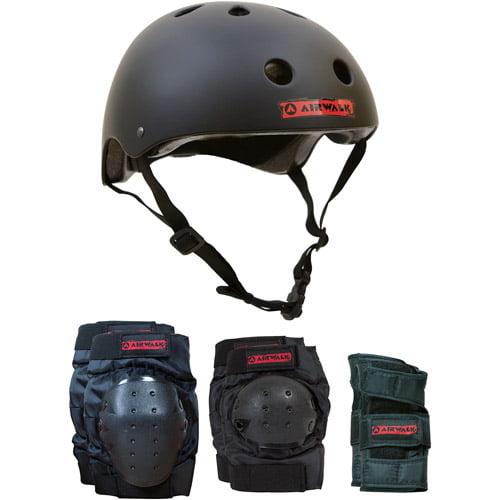 Airwalk Helmet, Knee, Elbow and Wrist Combo, Small/Medium