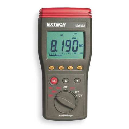 Battery Operated Megohmmeter,1000VDC EXTECH 380363