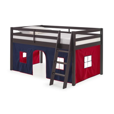 Roxy Junior Loft - Espresso with Blue and Red Bottom Tent