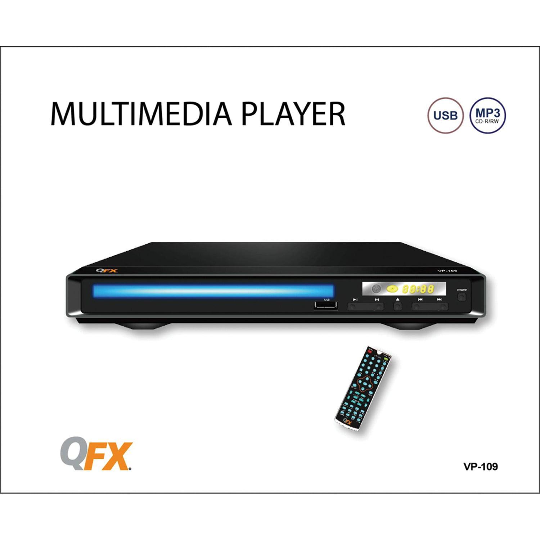 QFX VP-109 Digital Multimedia Player