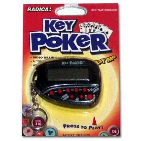 Key Poker, Electronic Hand Held Game By Radica Model 310 - image 1 of 1
