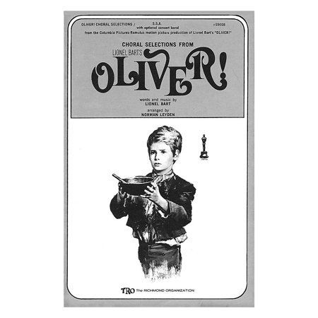 TRO ESSEX Music Group Oliver! (Choral Selections) SATB Arranged by Norman Leyden (Oliver Selection)