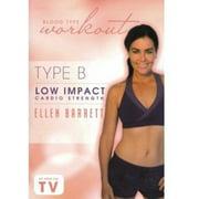 Blood Type Wokrout: Type B - Low Impact Cardio Strength With Ellen Barrett (DVD)