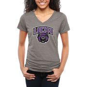 Central Arkansas Bears Women's Classic Primary Tri-Blend V-Neck T-Shirt - Gray