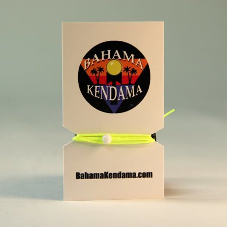 Three Pack - Bahama Kendama Premium Replacement kendama String with Beads, Instructions, and free Stickers (Neon Yellow)](Beading Instructions)