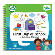 LeapFrog LeapStart Pre-K First Day of School Activity Learning Book