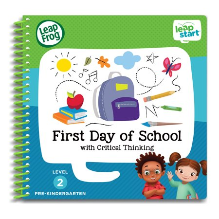 LeapFrog® LeapStart™ Pre-K First Day of School Activity Book - Field Day Activities