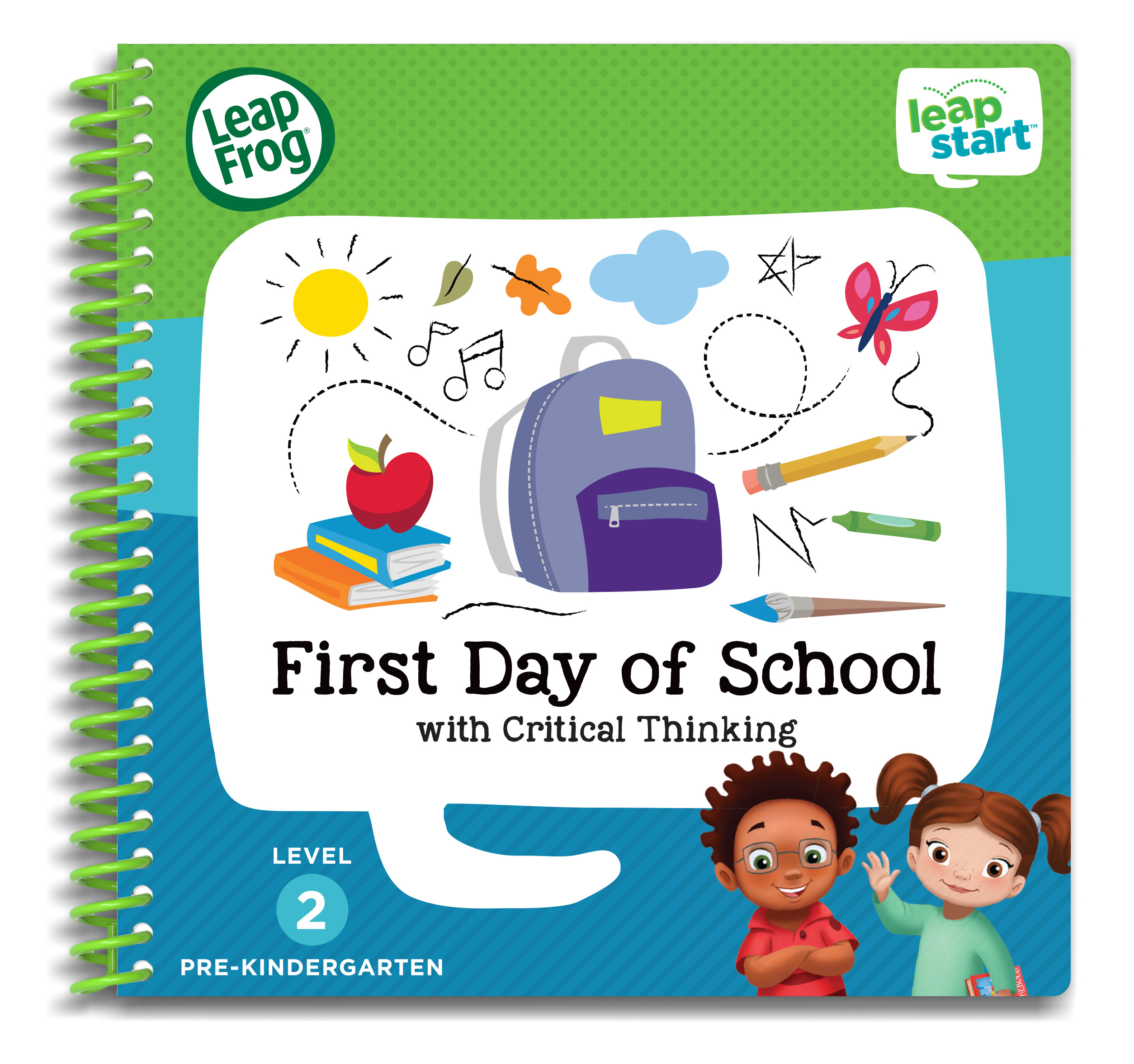 LeapFrog LeapStart Pre-Kindergarten Activity Book: First Day of School and Critical Thinking