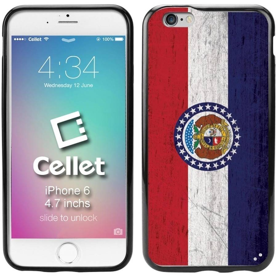 Cellet TPU/PC Proguard Case with Vintage Missouri Flag for Apple iPhone 6