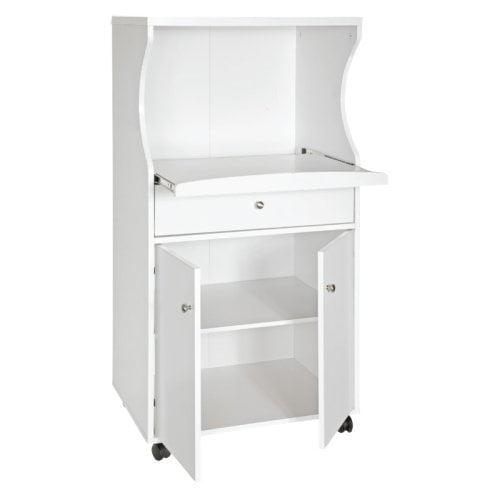 Home Source Portable Microwave Cart Walmart Com
