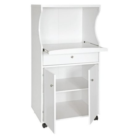 Home Source Portable Microwave Cart