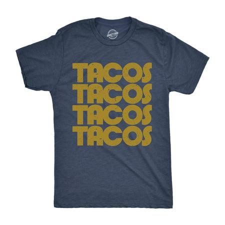 Mens Tacos Tacos Tacos Tshirt Funny Retro Cinco De Mayo Tee For Guys](Taco Dog)