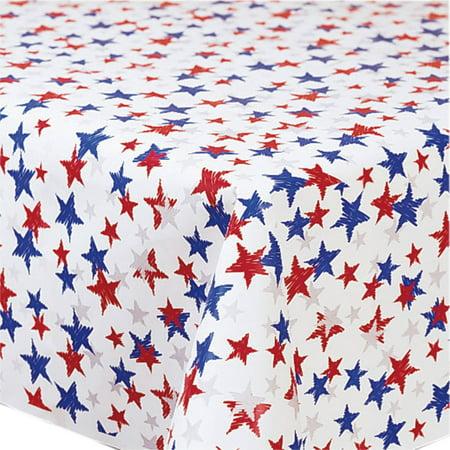 Patriotic Stars Banquet Table Roll