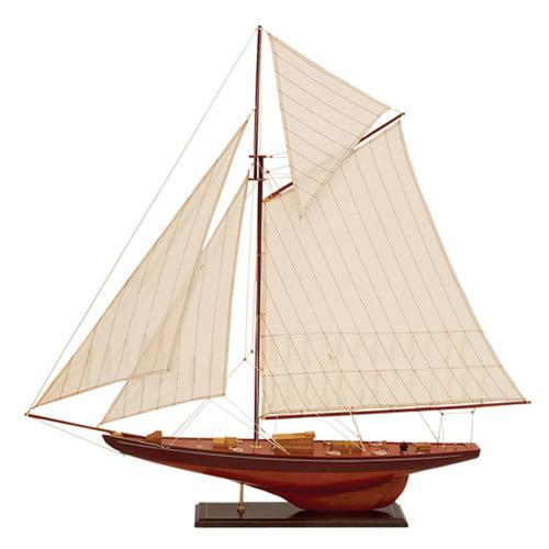 Woodland Imports Wooden Model Ship