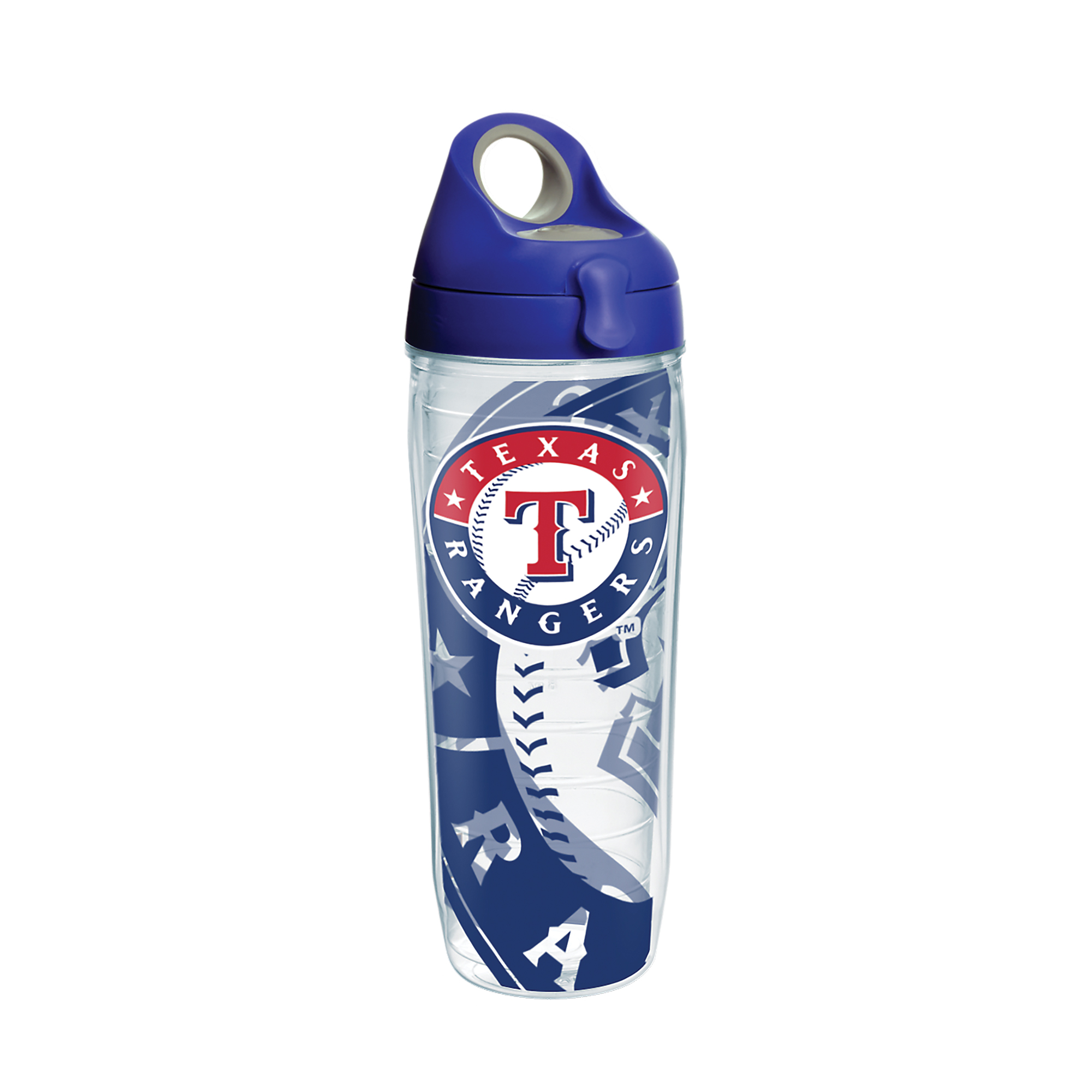 MLB Texas Rangers Genuine 24 oz Water Bottle with lid