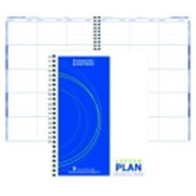 Hammond And Stephens P Wire-O Bound Lesson Plan Book - Polyice Cover, 6 Subjects, White & Blue