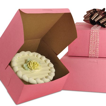 Pink Bakery Boxes 19 1/2