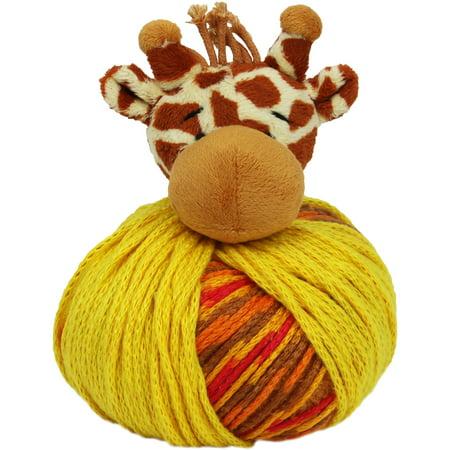 DMC Top This! Yarn Giraffe Yarn Dyed Plaid Shirt