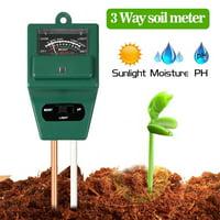 Soil PH Meter, TSV  3-in-1 Moisture Sensor Meter / Sunlight / PH Soil Tester for Home and Garden, Plants, Farm, Indoor/Outdoor Use
