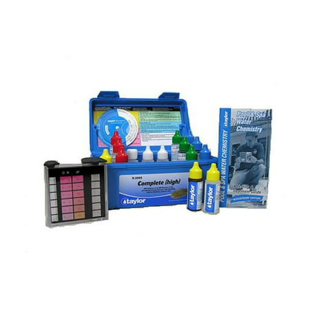 - Taylor Professional Swimming Pool Water & Chemical Test Kit Chlorine Bromine DP