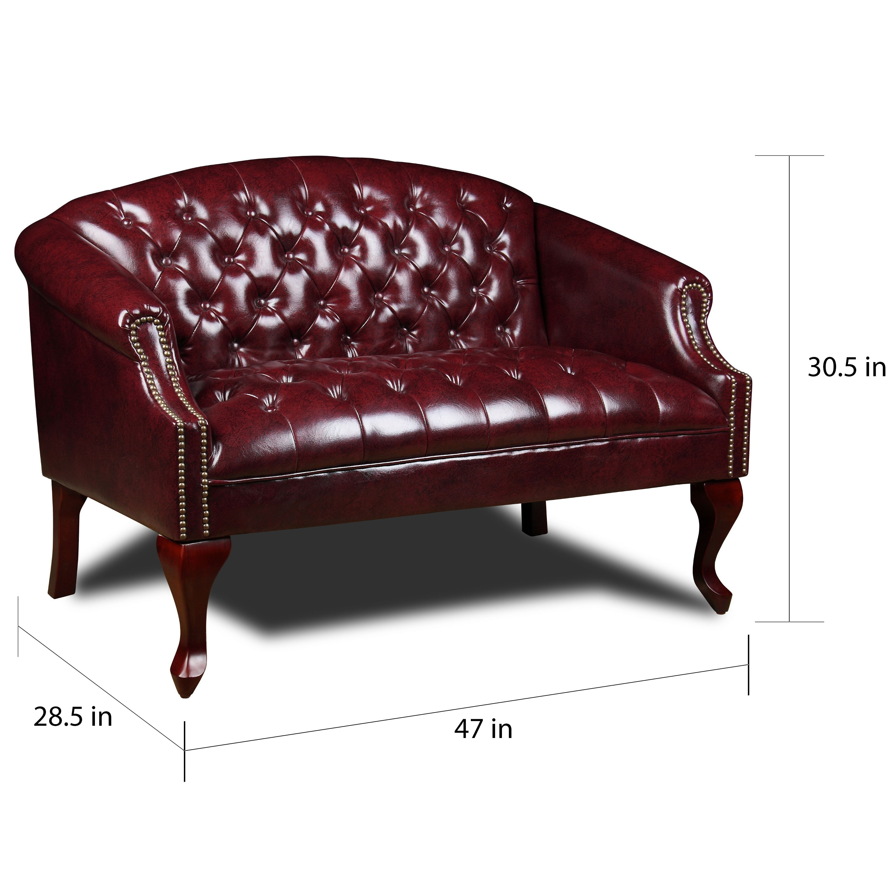 today sofa button free home overstock product garden tufted shipping couch moulin velvet