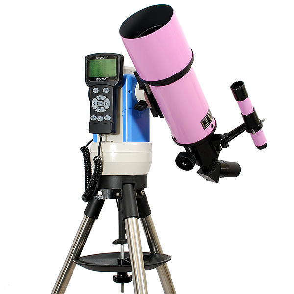 Twinstar 80mm Computerized Refractor Telescope, Pink