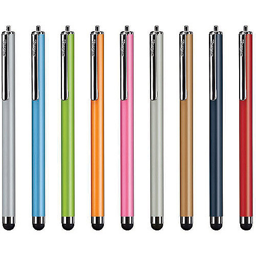 Targus Stylus for iPad 2/3/4, iPhone, iPod, Kindle Fire, Motorola Xoom, Samsung Galaxy, BlackBerry Playbook and other tablets (Assorted Colors)