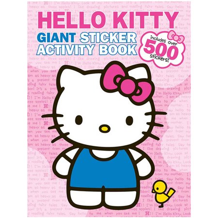 HELLO KITTY STICKER BK - Is Hello Kitty A Girl