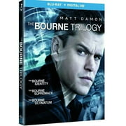The Bourne Trilogy: Bourne Identity / Bourne Supremacy / Bourne Ultimatum (Blu-ray + Digital HD)