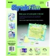 Grafix Inkjet Shrink Film - White, Pack 6