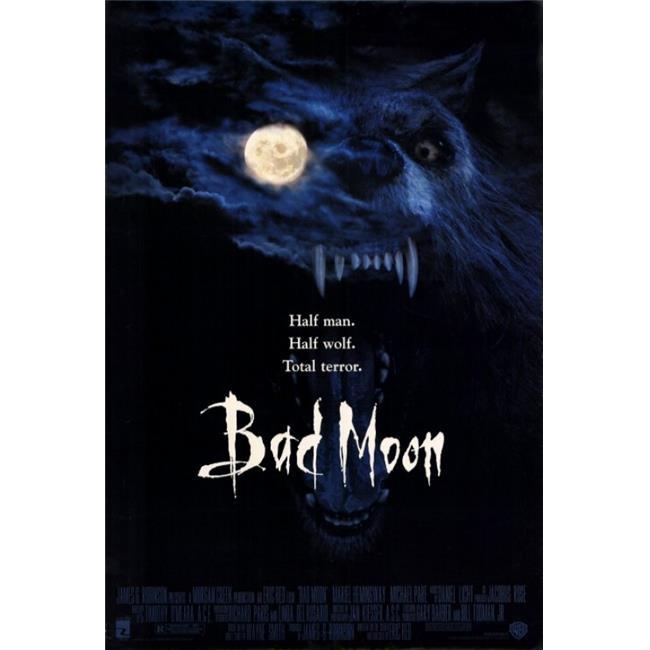 Pop Culture Graphics MOVIF8407 Bad Moon Movie Poster Print, 27 x 40 - image 1 de 1