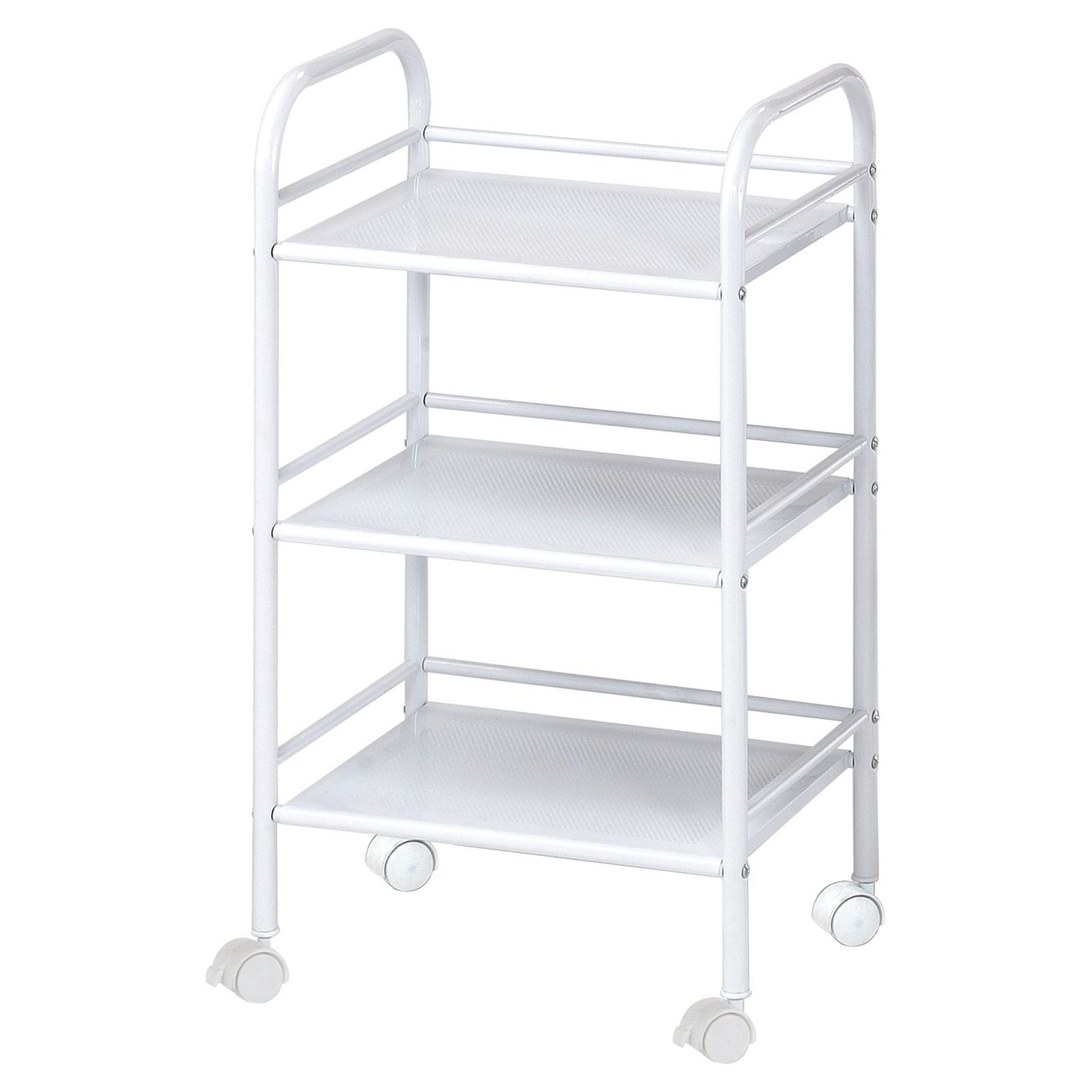 Blue Hills Studio 3 Shelf Storage Cart